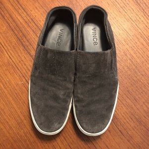 VINCE | Gray Slip on Sneakers 9
